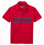 Timberland Polo men ss pink brook logo pique barbados cherry-l