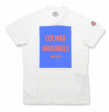 Colmar T-shirt men 7570 frida white jupiter basket-s