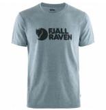Fjällräven T-shirt fjällräven men logo uncle blue-melange-s