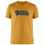 Fjällräven T-shirt fjällräven men fjällräven logo ochre-s