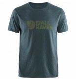 Fjällräven T-shirt fjällräven men fjällräven logo navy-s