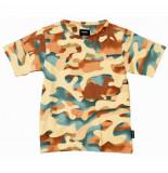 Snurk T-shirt kids paper desert-maat