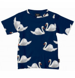Snurk T-shirt kids swan lake-maat