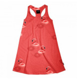 Snurk Tank dress kids floating flamingo-maat