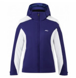 Kjus Ski jas girls formula jacket into the blue white-maat