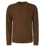 No Excess Pullover high crewneck plated bronze