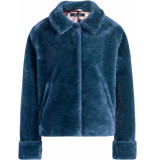 King Louie Heather jacket zoot bluestone blue