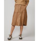 Summum 6s1169-11269 skirt buttoned suedine