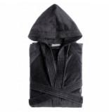 Jorzolino Badjas hooded junior dark grey-158