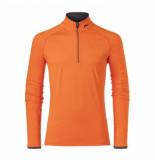 Kjus Skipully men feel halfzip orange-maat