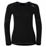Odlo Ondershirt womens l/s crew neck x-warm black-l