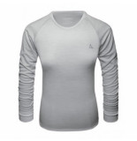 Schöffel Ondershirt women merino sport shirt 1/1 arm w opal gray-l
