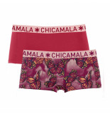Muchachomalo Girls 2-pack short butterfly