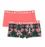 Muchachomalo Ladies 2-pack short bcore