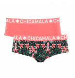 Muchachomalo Ladies 2-pack hipster bcore