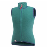Woolpower Bodywarmer kids vest 400 turtle green-maat 110 / 116