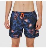 Brunotti Beachshort men tasker-flower jeans blue-s