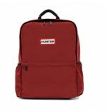 Hunter Rugzak original nylon backpack military red