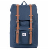 Herschel Rugzak supply co. little america mid-volume navy tan