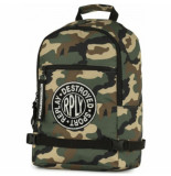 Replay Rugzak camo green 15l