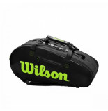 Wilson Tennistas super tour 2 competition charcoal green