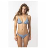 Barts Bikini women solid triangle blue-maat 34