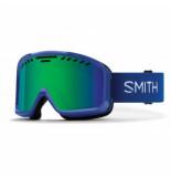 Smith Skibril project klein blue / green solx sp af