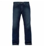 Carhartt Broek men rugged flex straight tapered jean light blue chambray-w32/l32