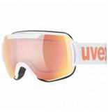 UVEX Skibril downhill 2000 cv white mat / rose