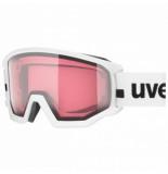 UVEX Skibril athletic v white / pink