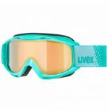 UVEX Skibril junior slider fm mint / gold