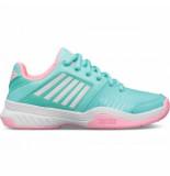 K-Swiss Tennisschoen k-swiss junior court express omni blue pink white-schoenmaat 32,5