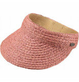 Barts Zonneklep soleil visor dusty pink