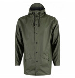 Rains Regenjas jacket green-s / m