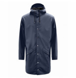 Rains Regenjas long jacket blue-xxs / xs