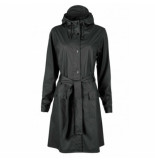Rains Regenjas curve jacket black-xs / s