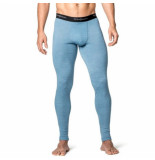 Woolpower Ondergoed men long johns lite nordic blue-xxl