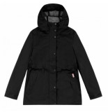Hunter Regenjas women original lightweight rubberised jacket black-l