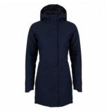 AGU Regenjas women urban outdoor clean jacket navy blue-s