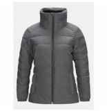 Peak Performance Ski jas women vel grey melange-s