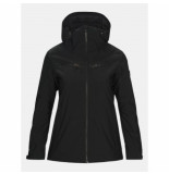 Peak Performance Ski jas women lanzo black 2020-s