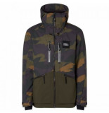 O'Neill Ski jas o'neill men textured jacket green aop-xs