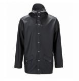 Rains Regenjas glossy jacket black-xxs / xs
