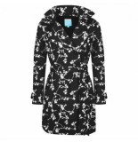 HappyRainyDays Regenjas trenchcoat brisa blossom black off white-xxl