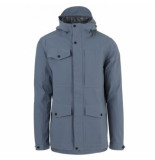AGU Regenjas men urban outdoor pocket 2.5l dusty blue-s