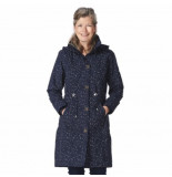 HappyRainyDays Regenjas coat milou dot black off white-xxl
