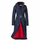 HappyRainyDays Regenjas long raincoat madonna midnight red-s