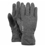 Barts Handschoen fleece heather grey-s