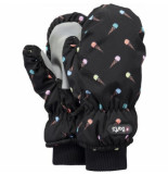 Barts Want kids nylon mitts print black-xxs