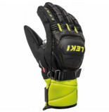Leki Handschoenen junior worldcup race coach flex s gtx black ice lemon-